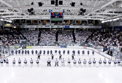 White out the Whittemore Center